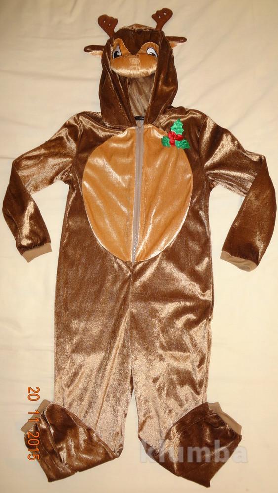 Продам костюм (комбез) лось 7-8 лет рост 122-128см. фото №1