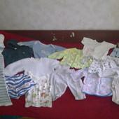 Пакет вещей на ребенка от 0 до 1,5 лет