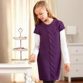 вязаное платье Tchibo р.146-152 Германия