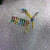Puma Тёплый беленький шарфик