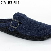 100-CN-B2-541  тапочки мужские материал- Фетр  цвет - синий Бренд Inblu