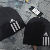 Шапка Adidas Essentials 3 Stripes Beanie 608849