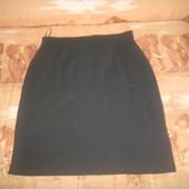черная юбка карандаш р 14+сераяженская юбка р 50-52