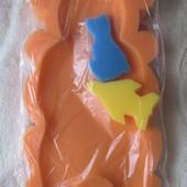 Поролоновый матрасик для купания малыша