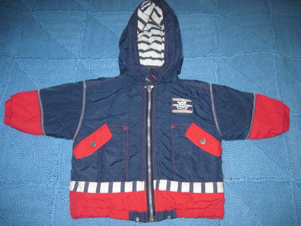 Демисезонная курточка  на 12 месяцев (смотрите замеры) фото №1