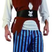 """Карнавальный костюм """"Пират"""", M/L, рубаха/штаны/шляпа/желетка/пояс"""