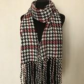 """Женские стильный шарф в """"гусиные лапки"""". Недорого!"""