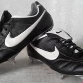 Бутсы Nike Tiempo кожаные оригинал р.46