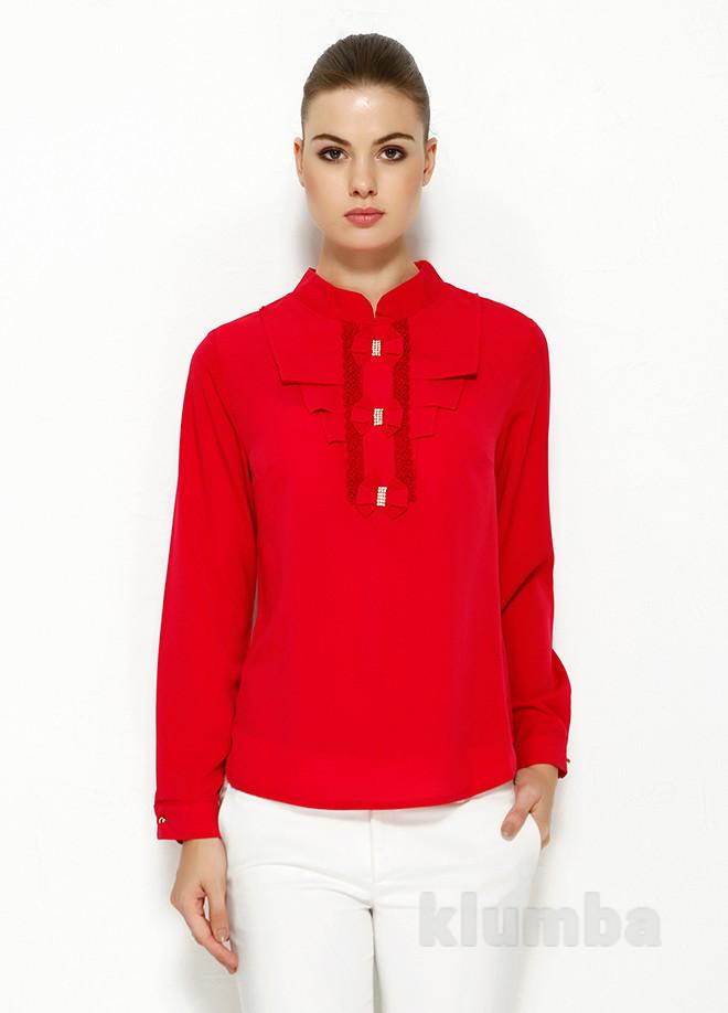 Утонченная нарядная блуза ma&gi в наличии фото №1