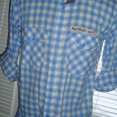 Фирменная  стильная рубашка сорочка бренд Takko.м.