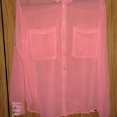 Стильная трендовая рубашка блуза. р.С -M