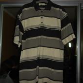 футболка-поло, бренд Кlein, батал, объем груди 120 см, размер 2ХL, б/у