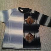 Шерстяной свитер р.L-XL