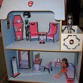 Кукольный домик Монстер Хай. Dollhous Moster High.