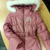 Зимняя курточка для девочки от ТМ Бемби