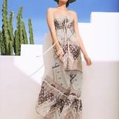 Шикарное нежное платье сарафан в пол Esmara. Германия. S