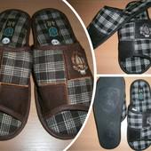Тапочки домашние мужские - хороший подарочек Любимым ножкам:)