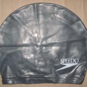 Speedo шапочка для плавания детская резиновая (50-52 см)