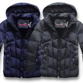 Мужская зимняя стеганная куртка
