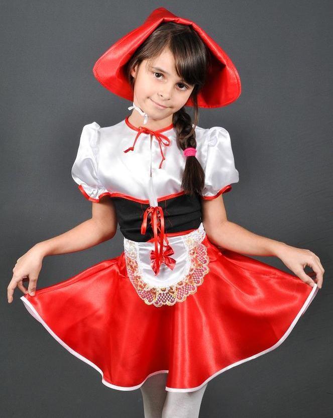 Новогодний костюм красная шапочка возраст 3-13 лет фото №1