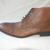 Мужские кожаные ботинки asos р.9 дл.ст 29,5см
