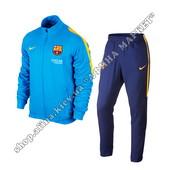 Спортивный костюм Nike Barcelona Revolution sideline woven tracksuit 2016 (1760)