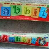 Детская зубная паста Rabbit Ребит Чехия