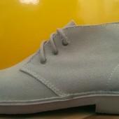 Кожаные ботинки чукка ( дезерты )