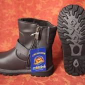 Новые детские теплые ботинки-сапожки. Размеры 27-32.