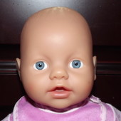 Мягко набивная кукла my little baby born 33 см zapf creation