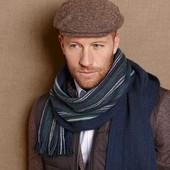 Двусторонний Трикотажный шарф