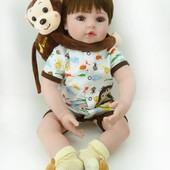 Кукла  реборн от 40-55см мягкие