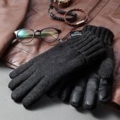 Черная пятница 140!!!  Перчатки зимние мужские размер 10 Tchibo Германия