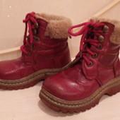Зимние ботинки на девочку р.27,16 см