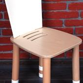 Стульчик регулируемый з переставной спинкой «Simple», Indigo Wood