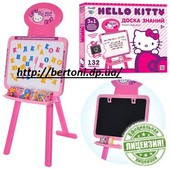 """Мольберт """"Hellou Kitty"""" двухсторонний HK0101"""