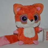 Милейшая лисичка лиса глазастик лупастик Aurora Юху Лемур YooHoo