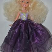 Кукла куколка по типу Барби балерина с обалденными волосами