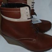Удобные ботиночки Braska, 41 р . Натуральная кожа