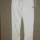 Белоснежные фирменные джинсы G-Star raw rahul chino tapered. Голландия