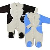 Эффектный нарядный детский человечек - стильный наряд для мальчика