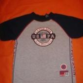 Фирменная США  Polo оригинал футболка мальчику 4-5 лет