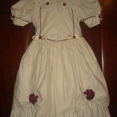 Нарядное платье для девочки 3-4 лет