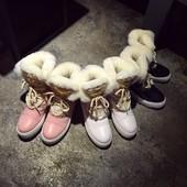 Зимние ботинки Chanel