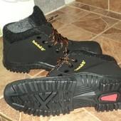 Мужские ботинки из иск Нубука