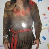 Маскарадный новогодний костюм индеец L-ка Германия Lidl