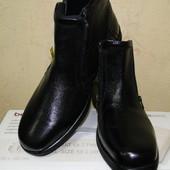 Кожаные ботинки от Pavers, Англия, деми, еврозима
