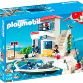 Playmobil 5128 Полицейский участок Harbor Police Station with Speedboat