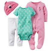 Подарочные комплекты на новорожденных Carters в наличии на мальчиков и девочек