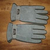 Кожаные перчатки , размер М 180 грн утеплитель Thinsulate insulation 40 gram стягивающая резинка и л